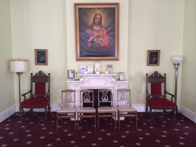 Big Jesus Room - no lights